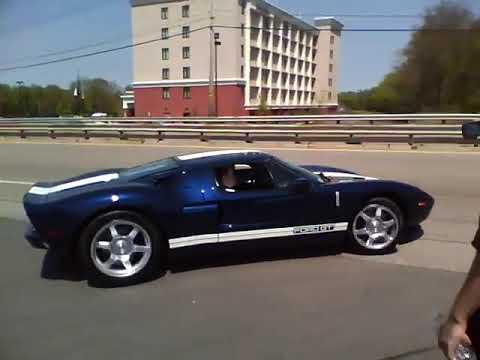 Ford GT Accélération