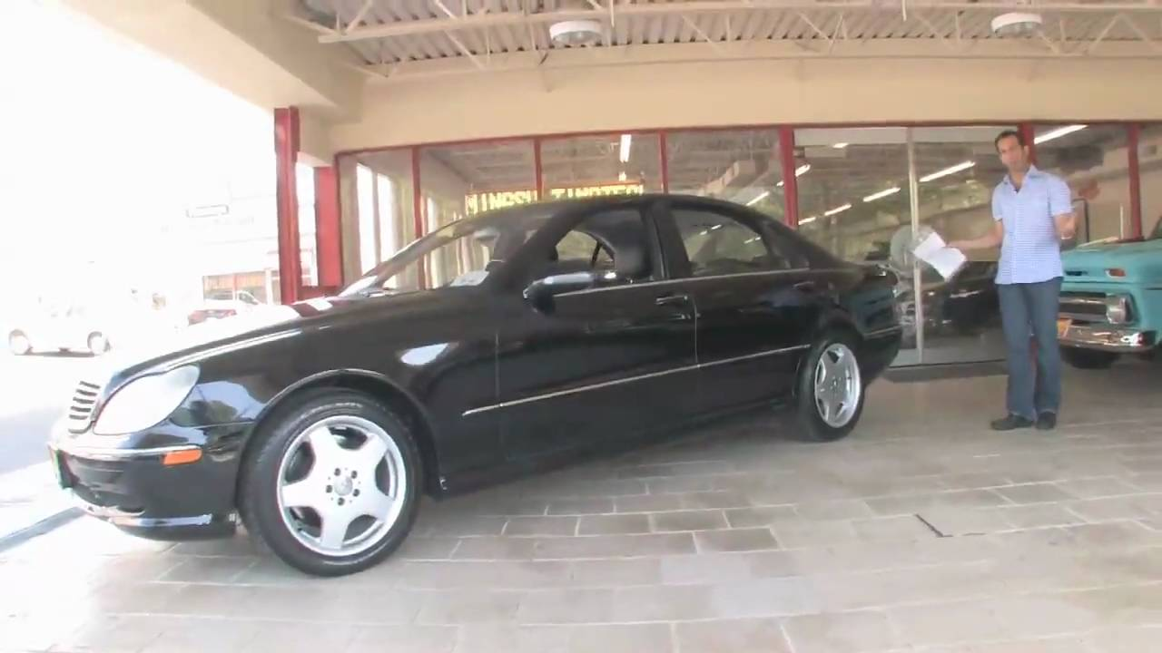 2001 mercedes benz s55 amg for sale flemings ultimate garage youtube. Black Bedroom Furniture Sets. Home Design Ideas