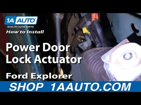 Auto Repair: Fix Broken Power Door Lock Actuator Ford Explorer Lincoln Mercury 88-03 - 1AAuto.com