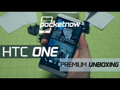 HTC One: Premium Unboxing & Hardware Tour