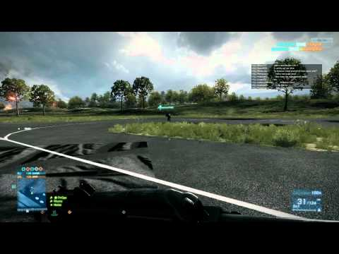 HD- Battlefield 3 Jet Gameplay