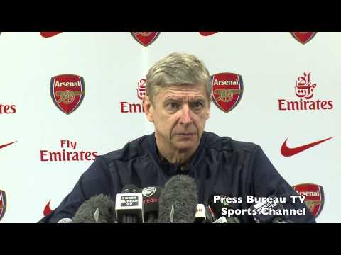 Arsene Wenger pre Arsenal vs Fulham