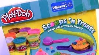 Sorveteria Mágica Play Doh Scoops N Treats Fazendo