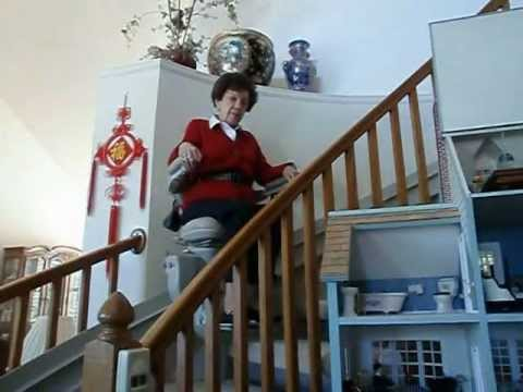 Curved Stairlift Testimonial - Ella and Pete.avi