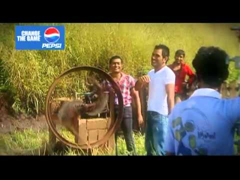 "Pepsi The Making of Dhoni's ""Helicopter Shot"""