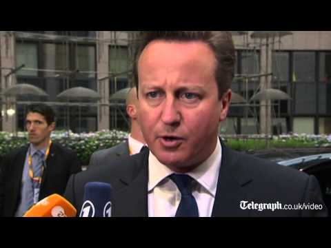 David Cameron: Brussels is 'too big, too bossy, too interfering'