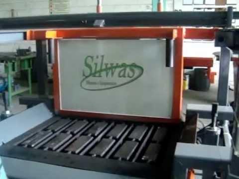 Máquina de Fabricar Blocos de Cimento