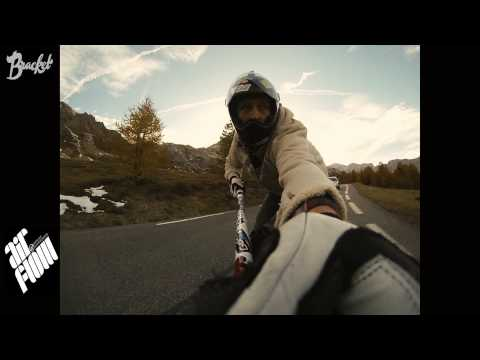 Ride simple, longboard for fun, Col d'Izoard