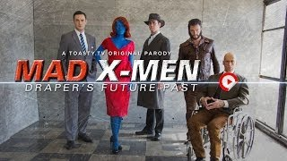 Mad X-Men: Don Draper's Future Pas