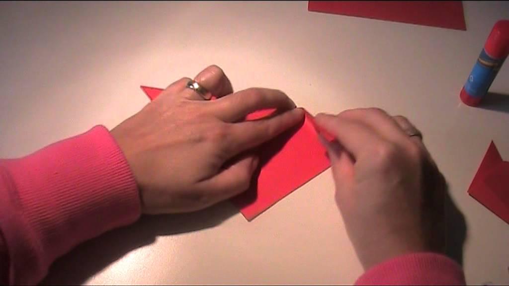 anleitung origami vorlage katze falten youtube. Black Bedroom Furniture Sets. Home Design Ideas