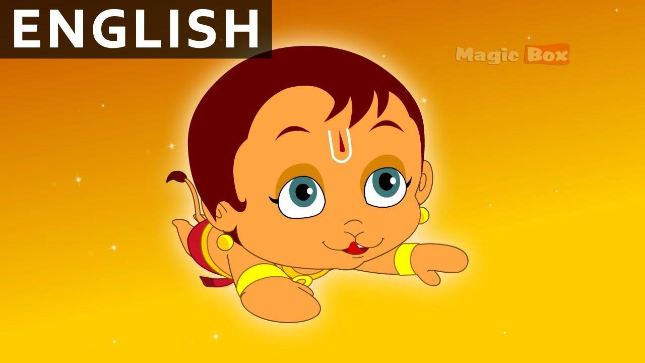 Hanuman in english animation cartoon stories for kids youtube