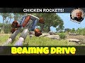 BeamNG Drive Chicken Rocket JATO Powered Chickens