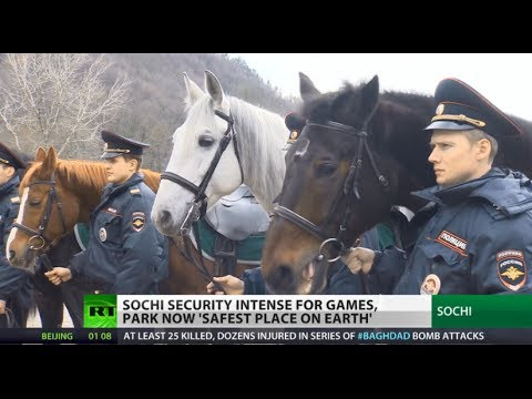 Safety First: AA missiles, high-tech gear, cossacks protect Sochi Olympics