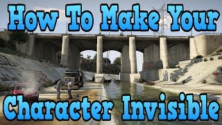 """GTA 5 Online"" How To Make Your Character Invisible In GTA"