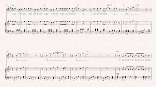 Clarinet Bailando Enrique Iglesias Sheet Music, Chords