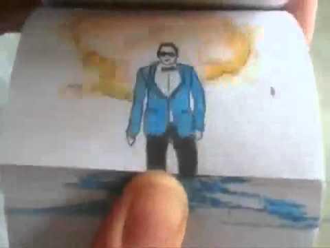 Gangnam style hoạt hình