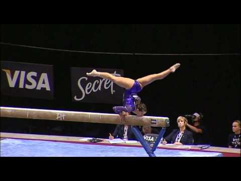 Alicia Sacramone (Brestyans) - 2010 US Nationals - Beam (Day 1)