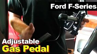 How To Replace An Adjustable Gas/Accelerator Pedal