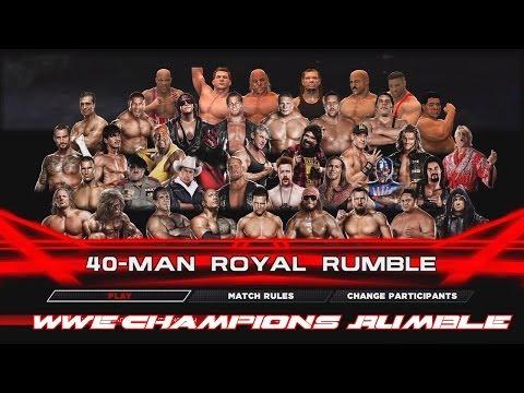 WWE 2K14 - WWE Champions Rumble