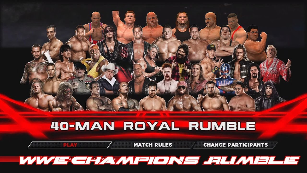 list of the wwe champions