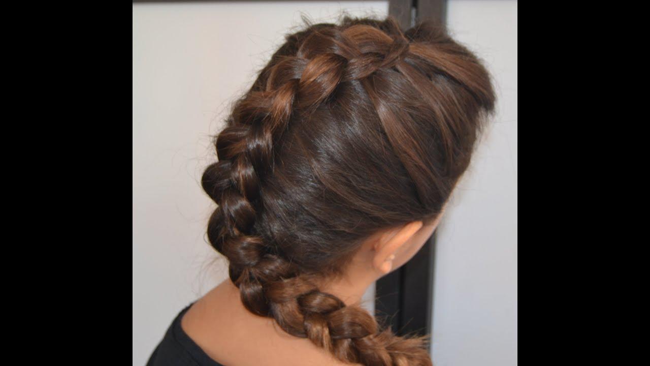 Trenzas f ciles de moda de ra z selena gomez mtv awards - Fotos peinados de moda ...