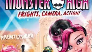 Monster High Frights, Camera, Action! Trailer! ᴴᴰ
