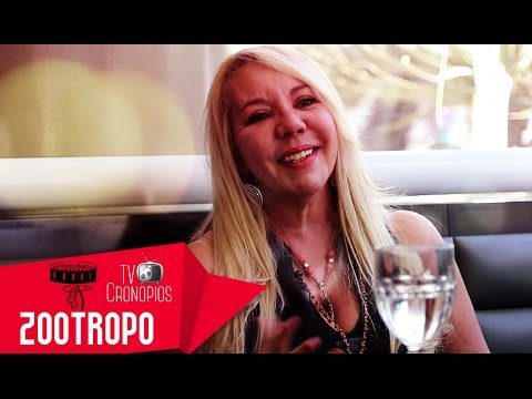 Noelle Pine no programa Zootropo - TV Cronópios