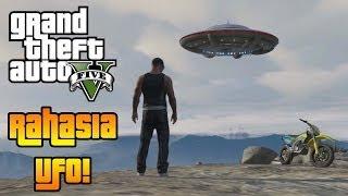 GTA 5 Bahasa Indonesia Rahasia UFO Di GTA 5! (UFO Di