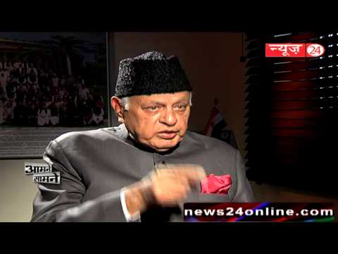 Watch Aamne Samne With Farooq Abdullah