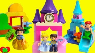 Disney Princess Lego Duplo Prince Charming Finds His Princess Cinderella