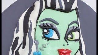 Cómo Hacer Una Tarta De Fondant De Frankie Monster High