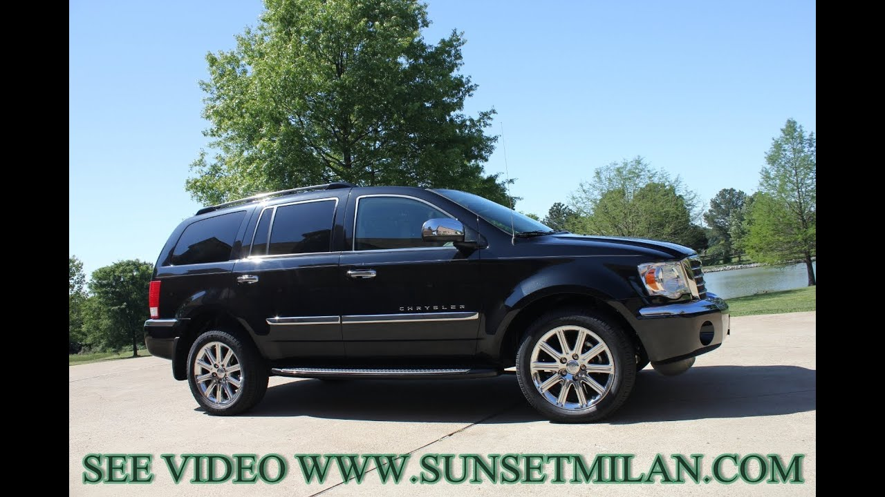 2009 chrysler aspen limited for sale see www sunsetmilan com mpg. Cars Review. Best American Auto & Cars Review