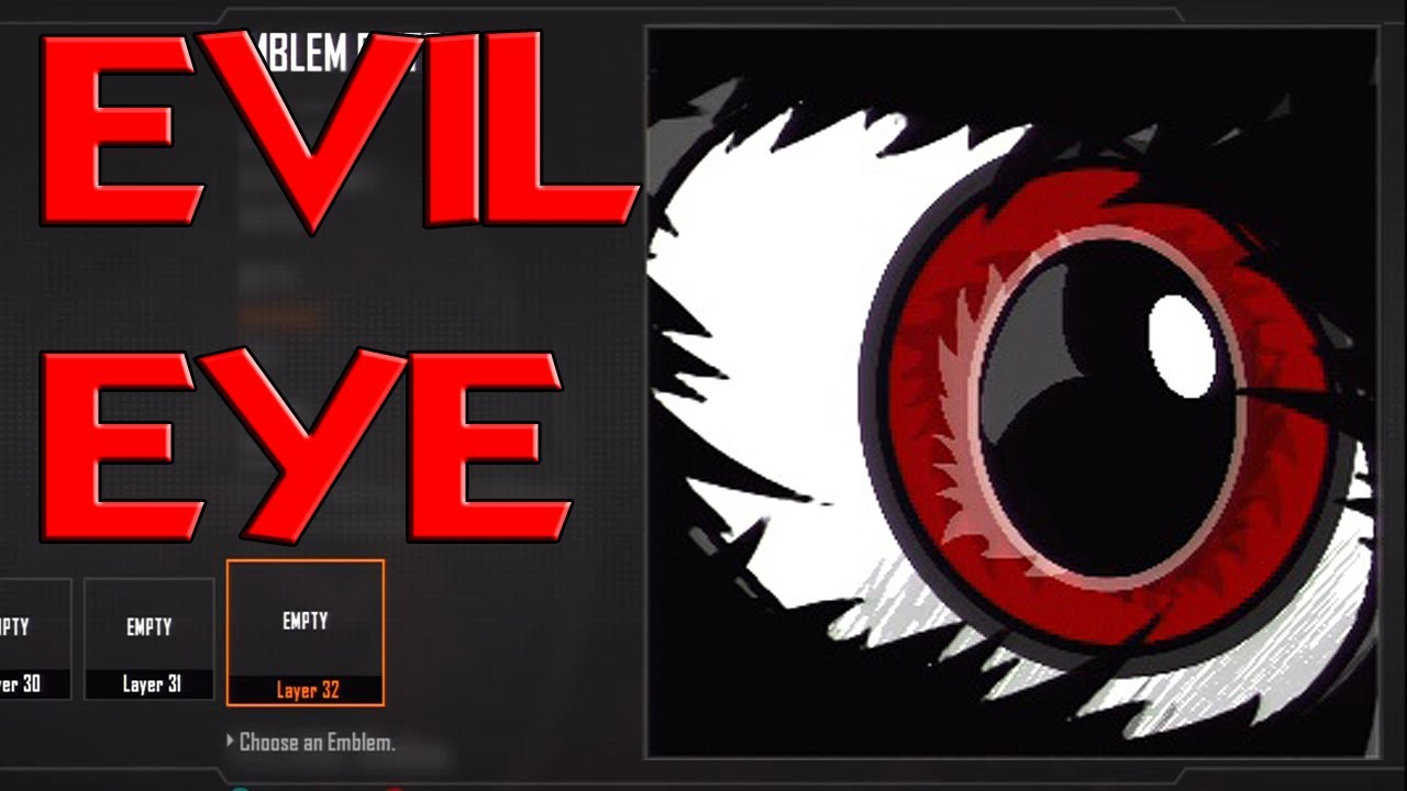 advanced warfare evil eye emblem tutorial easy black ops