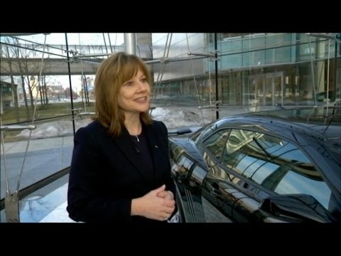 New GM CEO Mary Barra: 'I Stayed Focused'