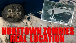 Nuketown Zombies Location! Black Ops 2 Zombies Storyline