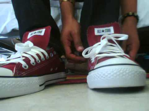 Converse All Star Chuck Taylor Burgundy Unboxing