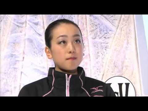 浅田真央 Mao Asada interview 2014 worlds インタビュー