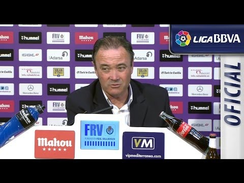 Rueda de Prensa | Press conference de JIM tras el Real Valladolid (1-0) FC Barcelona - HD