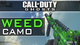 Call Of Duty Ghosts Free Weed Camo Code Xbox 360 Xbox One