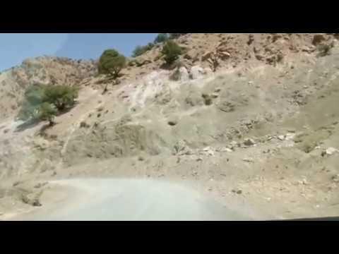 أخطر طرق المغرب الطريق الى تيزي نسلي