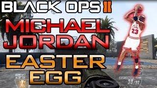 """Black Ops 2: """"Michael Jordan Easter Egg On Raid"""" (BO2"""