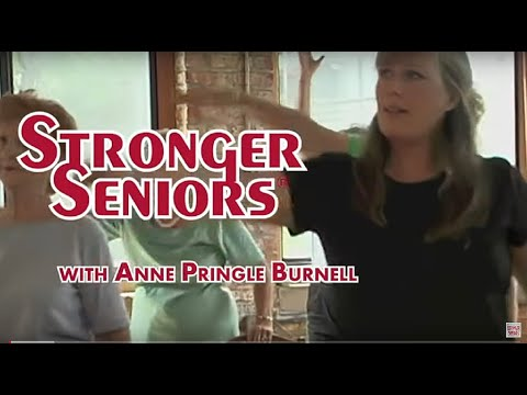Stronger Seniors Core Fitness Workout  Chair Exercise Video, Elderly Exercise