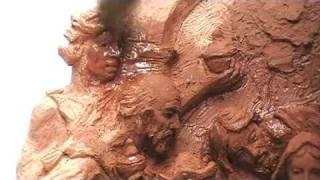 Acabado de una escultura: pátina al aceite de linaza