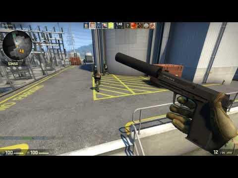 CS:GO Competitive Nuke Gameplay