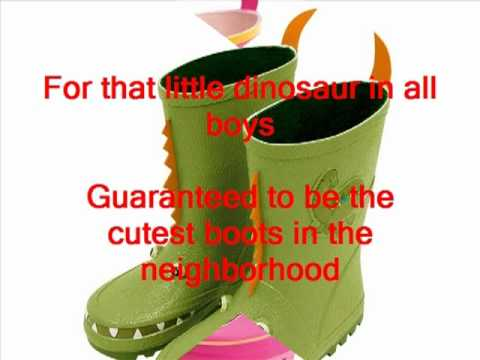 Kids rain boots at Tootsies Children Rainwear