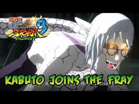 Naruto SUN Storm 3 Full Burst - PS3/X360/PC - Kabuto joins the fray (Japan Expo 2013)