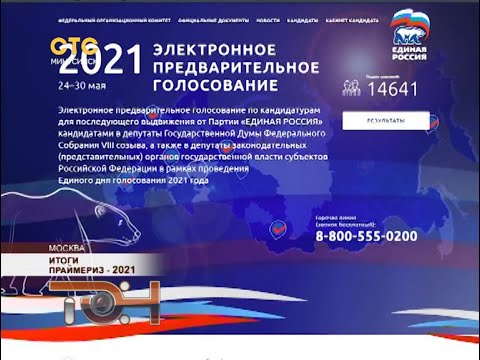Итоги праймериз – 2021