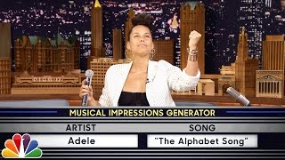 Wheel of Musical Impressions with Alicia Keys