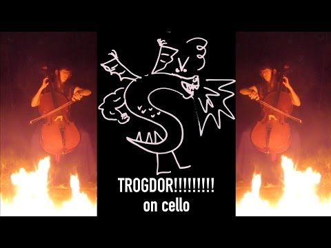 TROGDOR THE BURNINATOR on cello (cover) - The Doubleclicks