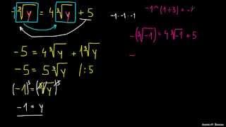 Reševanje enačb s korenom 2